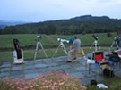 Moonlight in Vermont Astronomy Night