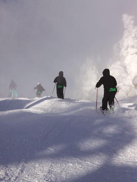 Vermont ski academy students train at Killington Mountain