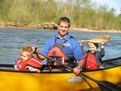 VT Dads Canoeing Adventure