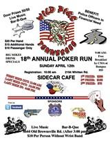 LOCAL LAW ENFORCEMENT - 18th Annual WILD PIG's Poker Run