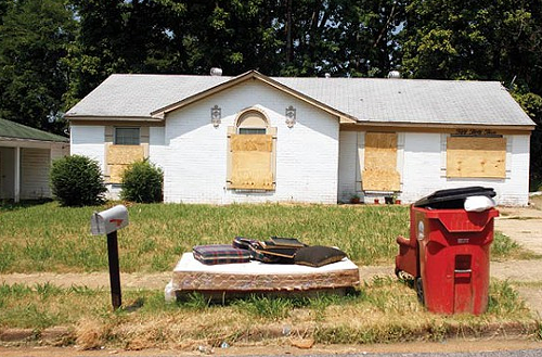 A blighted Northaven home