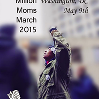 A flyer for the Mothers for Justice United march planned for Washington D.C.