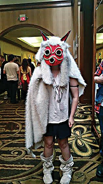 A MidSouthCon attendee. - ALEXANDRA PUSATERI