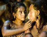 A quiet moment (the only quiet momeent?) in Apocalypto