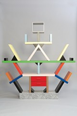 "A ""room divider"" by Ettore Sottsass"