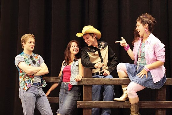 A scene from Footloose