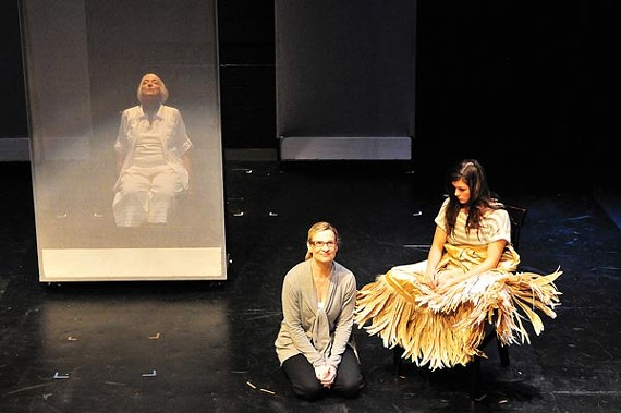 A scene from TheatreWorks' Eleemosynary