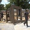 First Sculptures Erected in Cancer Survivors Park