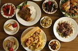 A selection of dishes at Dejavu