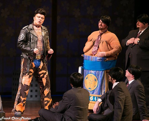 A show with everything including a sumo wrestler