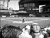 A straight-shot view at Safeco Field: home plate and beyond