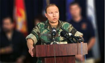 Adviser Gordon in former military role