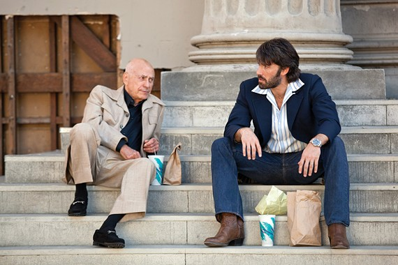 Alan Arkin and Ben Affleck