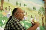 Alan Stuart Graf reaches radical civics at the Farm School. - JUSTIN FOX BURKS