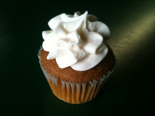 All Americans pumpkin cupcake