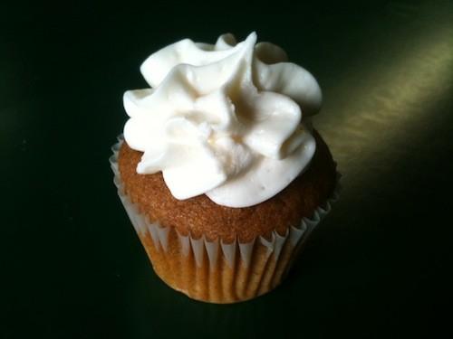All Americans pumpkin cupcake
