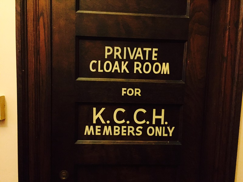 All that and a place to store your cloak. Members only.