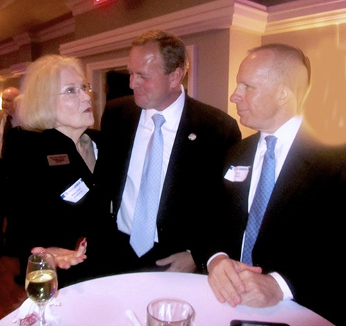 Among the attendees at Ryans Racquet Club event were Mary Jane Anderson, U.S. Rep. Stephen Fincher, and Mark Puckett