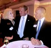 Among the attendees at Ryan's Racquet Club event were Mary Jane Anderson, U.S. Rep. Stephen Fincher, and Mark Puckett