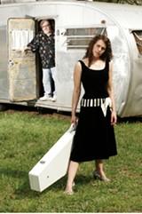MEMPHIS MAGAZINE - Amy LaVere (with Jim Dickinson)