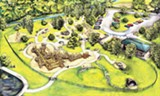 DAKODA DAVIS - An artist's rendering of plans for - Overton Park's playground