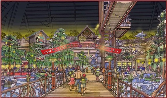 An artist's rendering of the retail floor. - BASS PRO SHOPS