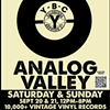 Analog Valley Weekend