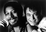 Andrew Love (left) and Wayne Jackson