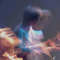 """""""Making Electricity"""": 10 Shots from MGMT at The Orpheum Andrew VanWyngarden Amanda Chiles"""