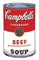 Andy Warhol (American, 1928-1987) | Campbell's Soup I: Beef, 1968 | screen print on paper 35 x 23 in. (88.9 x 58.4 cm.) | The Andy Warhol Museum, Pittsburgh | Founding Collection, Contribution The Andy Warhol Foundation for the Visual Arts, Inc. © The Andy Warhol Foundation for the Visual Arts, Inc.