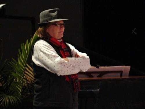 Ann Marie Hall directing The Club, 2012