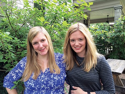 Anna Vergos Blair and Katherine Vergos Riederer
