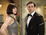 Anne Hathaway and Steve Carell