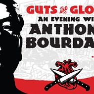 Anthony Bourdain at the Orpheum: Guts & Glory, Some Leftovers, and a Super Fan