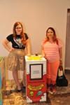 Artist Lauren Rae Holtermann on right.