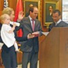 Conrad Takes the Oath as 13th Council Member