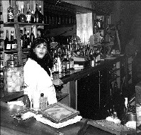Automatic Slim's owner Karen Carrier during the early days