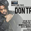 Backstage Pass: Don Trip