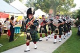 Bagpipes were a big deal at the annual Clanjamfry fest.