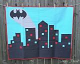 JANET MIDDLEKAUFF OF SIMPLY PIECED - Batman Quilt
