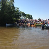 On the Scene at the Outdoors, Inc. Canoe and Kayak Race
