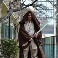 "MidSouthCon 32 Ben Jones as Obi-Wan Kenobi from ""Star Wars."" Lisa Elaine Babb"