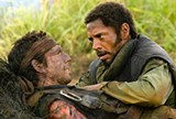 Ben Stiller and Robert Downey Jr. in Tropic Thunder