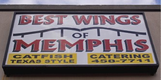 Best Wings, located on Summer Avenue, specializes in chicken wings and getting customers their food in a timely fashion. - BY JUSTIN FOX BURKS
