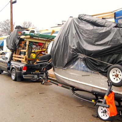Beverly Hillbillies Style Truck/Boat