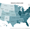 Big Data on Music State by State