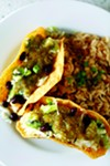 Black Bean Taco at Evelyn & Olive