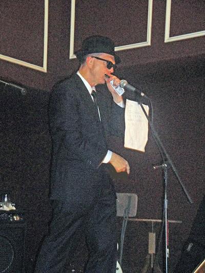 Bluesman George Flinn - JB