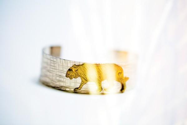 × Bracelet from Sachi, $38