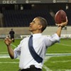 Breaking: Obama Throws Football ... Or DOES HE???